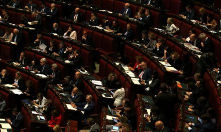 Italy's parliament approves the country's military mission to Niger.