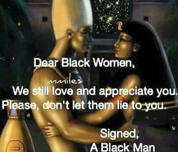 3-6 million US black women can't find a husband or boyfriend