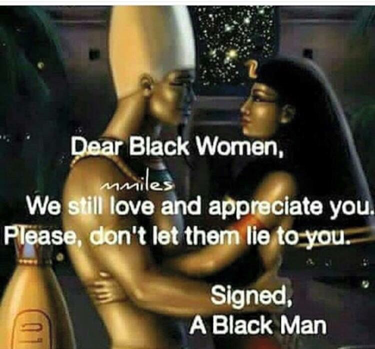 what do black guys look for in a woman