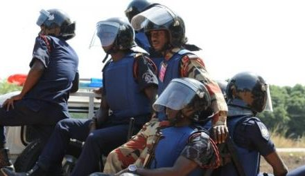 Police in Ghana seize suspected explosives, arrest three persons