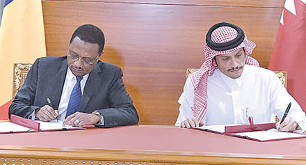 Qatar and Chad have restored diplomatic ties