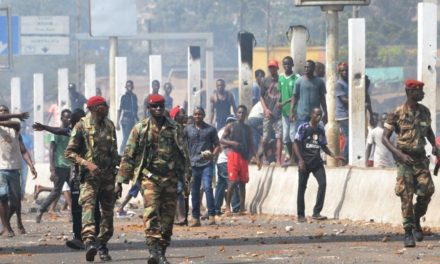 Protesters shut down Guinean capital Conakry, country on alert