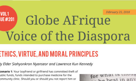 Voice of the Diaspora – Ethics, Virtue, and Moral Principles