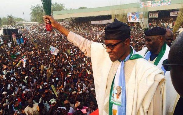 Ruling party in Nigeria allegedly endorses Buhari for second term