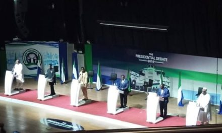 Sierra Leone voters tune in for rare presidential debate