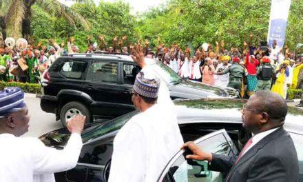 Lagos on lockdown as Buhari makes landmark visit