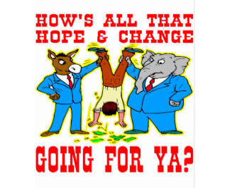 'Change for Hope' or Change for Crooks?