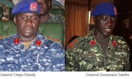 Gambia accuses renegade generals with desertion