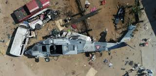 Eight killed after a Military helicopter crashes in southern Senegal