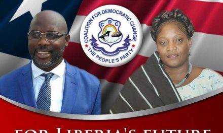 President Weah has good intentions for Liberia; but he needs good advisers and officials