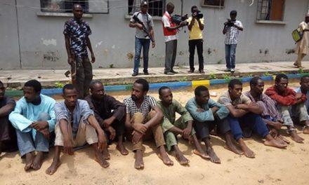 Nigeria nabs 49 highway armed robbers, kidnappers
