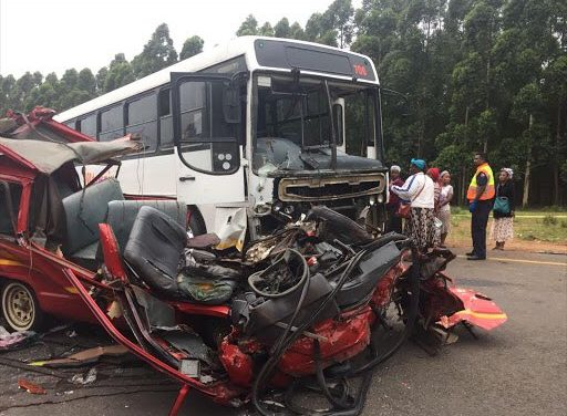Bus collision in Ghana kills 18, injures 70 other