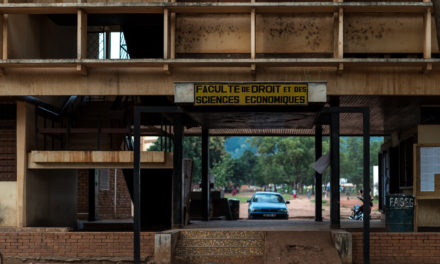 CAR: 'To live and study in Bangui is a type of torture'