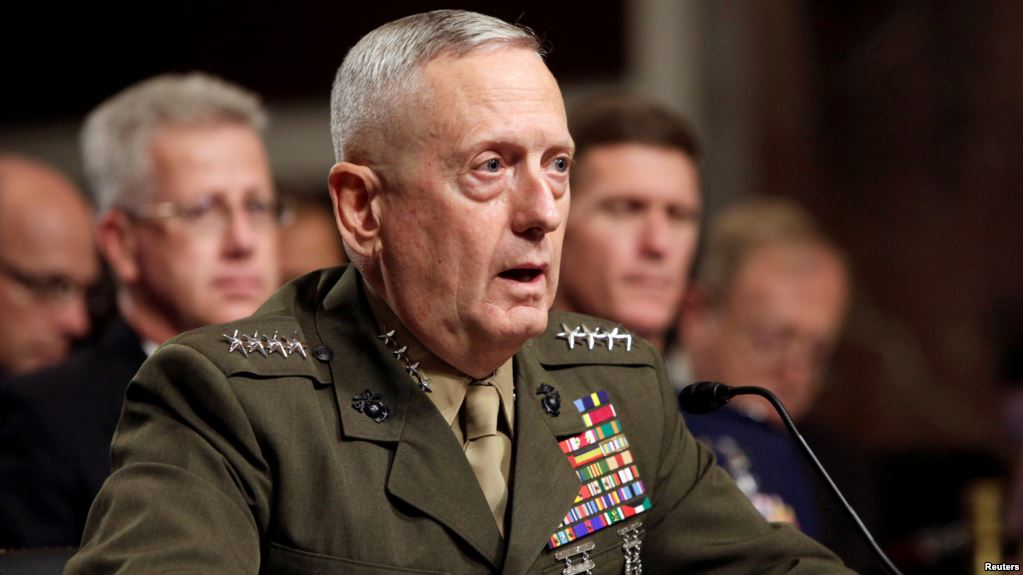 U.S. Defense Chief says military addressing issues found in Niger attack