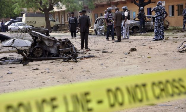 Suicide bombers kill three in northern Nigeria mosque