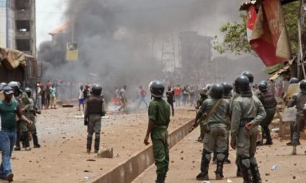 Political Unrest in Guinea